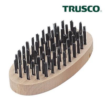 中山TRUSCO 研磨刷 TB-5005 椭圆六线刷硬钢丝