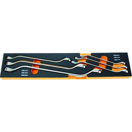 TRUSCO EVA格式黑色×橙色3段式工具箱用