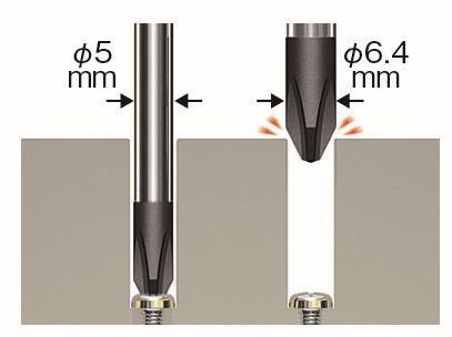 No.990 G-grip(手柄带重力球)精密螺丝刀
